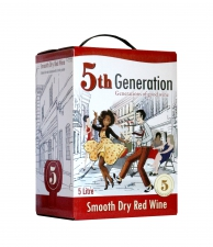 5th Generation Smooth Dry Red